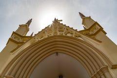 Святой перекрестный собор Лагос Нигерия стоковое фото