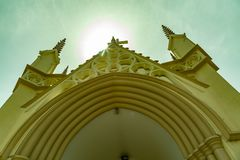 Святой перекрестный собор Лагос Нигерия стоковая фотография rf