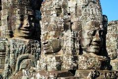 Святой предохранения от Angkor Wat в свете солнца утра Стоковые Изображения