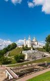 Святой собор предположения монастыря предположения и святого духа Витебск, Беларусь Стоковые Изображения RF