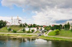Святой собор предположения предположения Витебск, Беларусь Стоковая Фотография