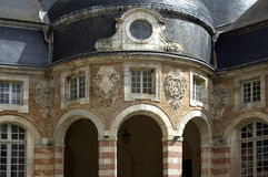 святой Франции fargeau замока Стоковые Фото