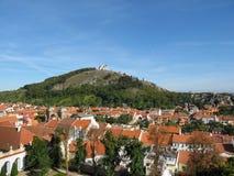 Святой холм в Mikulov, южной Моравии Стоковые Фото