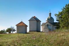 Святой холм в Mikulov Стоковая Фотография RF