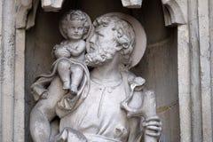 святой Христофора стоковое фото rf