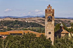 святой церков asciano agatha Стоковые Изображения