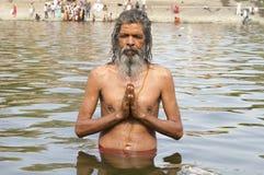 Святой человек Стоковая Фотография