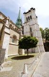 святой Швейцария geneva peter s собора Стоковые Фотографии RF