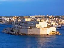Святой Ange форта, Мальта Стоковая Фотография