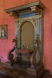 Святой Angelo замока Деталь залы Внутренний взгляд rome Италия Стоковые Фотографии RF