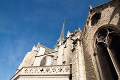 Святой Bénigne Дижон Франция собора стоковые фото