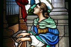 святой cecilia Стоковая Фотография