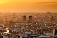 святой de paris Паыля церков vincent Стоковые Изображения RF