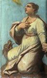 Святой Eurosia стоковые изображения