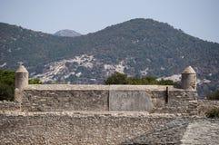 Святой Florent, Сан Fiorenzo, горизонт, цитадель, haute-Corse, Корсика, Франция, остров, Европа Стоковое Фото