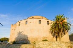 Святой-Florent Citadelle стоковое фото rf