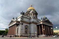 святой isaac s собора Стоковое фото RF