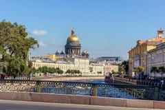 святой isaac s собора Стоковые Фотографии RF
