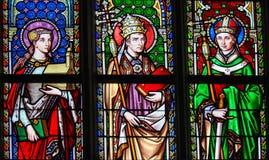 Святой Isabella, Святой Лео большой и Святой Евгений стоковая фотография