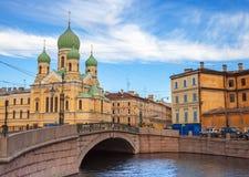 Святой-Issidorovsky правоверный висок Стоковое Изображение