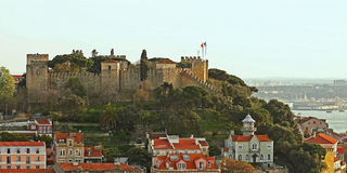святой jorge замока Стоковые Фото