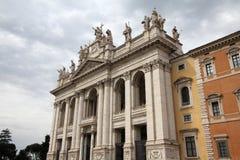 святой lateran john базилики стоковые изображения rf