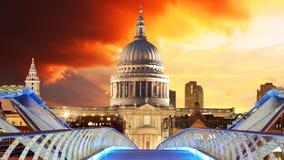святой london Паыля s собора стоковое изображение rf