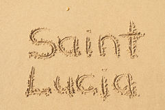 святой lucia Стоковое Изображение RF