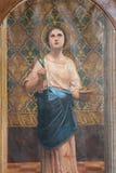 святой lucia стоковые изображения