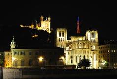 святой lyon демикотона Франции собора Стоковое фото RF