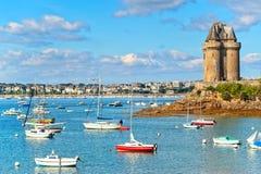 Святой Malo, Бретань, Франция Стоковые Фото