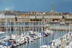 Святой-Malo стоковые фото