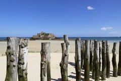 Святой-Malo стоковое фото rf