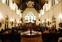 святой mary собора Стоковая Фотография