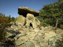 святой michel grandmont de dolmen Стоковое фото RF