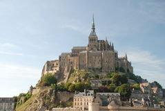 Святой Michel Mont Стоковые Изображения