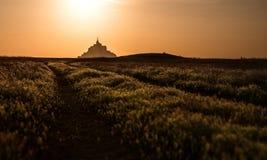 Святой Michel Mont Стоковое Изображение RF