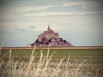 Святой Michel Mont Стоковые Изображения RF