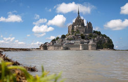 святой mont le michel Стоковые Фото
