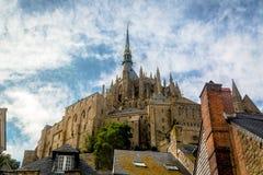 святой mont michel аббатства Стоковое Фото