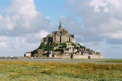 святой mont michel Стоковые Фото