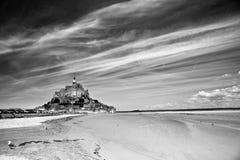 святой mont michel Стоковые Фотографии RF