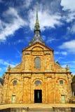 святой mont michel Стоковая Фотография