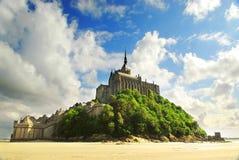 святой mont michel Стоковая Фотография RF