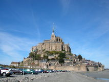 святой mont michel Стоковое Фото