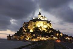 святой mont michel Стоковое Изображение