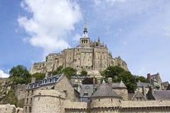 святой mont michele стоковая фотография