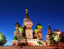 святой moscow собора базилика Стоковое Фото
