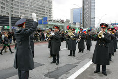 святой moscow patrick s дня Стоковая Фотография