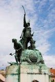 святой n памятника istv стоковые фото